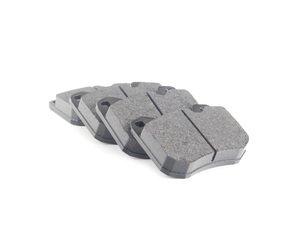 ES#2081257 - 94435195102 - Front Brake Pad Set - OE compound brake pads - includes shims - Textar - Porsche