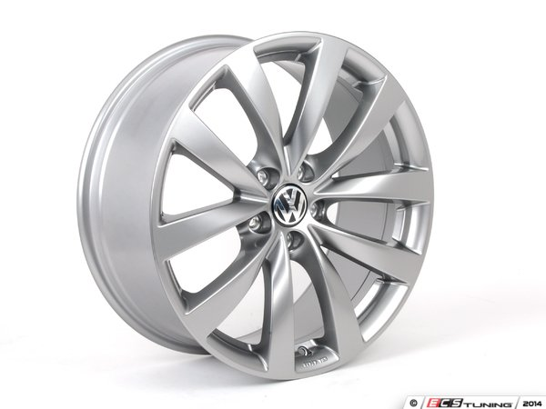 "ES#1892169 - 1K8071499QQ9 - 19"" Sagitta Wheel - Set Of Four - 19x8 ET41 5x112 alloys in titan grey - Genuine Volkswagen Audi - Volkswagen"