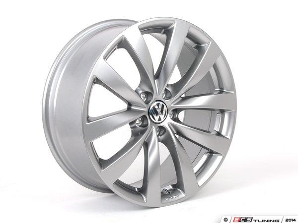 ES#1892169 - 1K8071499QQ9 - 19 Sagitta Wheel - Set Of Four - 19x8 ET41 5x112 alloys in titan grey - Genuine Volkswagen Audi - Volkswagen