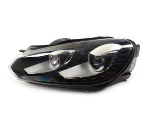 ES#2723936 - 1zs009902771 - Mk6 Euro HID Headlight Housing - Left - Hella -