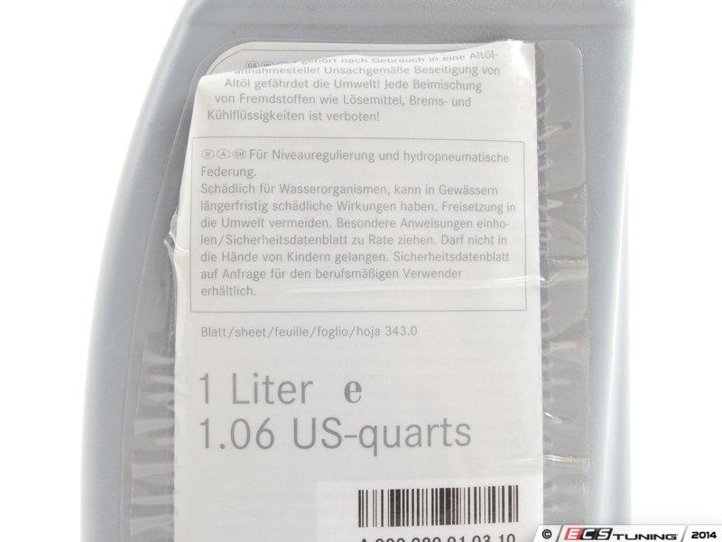 Besondere Len genuine mercedes 000989910310 hydraulic fluid priced each