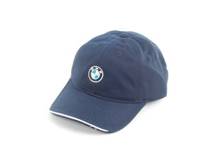 ES#1833348 - 80160439605 - Men'S BMW Recycled Brushed Twill Cap - Navy color, made from recycled plastic - Genuine BMW - BMW