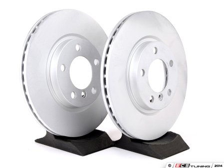 "ES#2678575 - 34119811538KT - Front Brake Rotors - Pair 12.08"" (307x24) - New brake rotors to restore your stopping power in your MINI. - Genuine MINI - MINI"