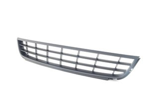 ES#2085972 - 5C68536779B9 - Lower Center Grille - Satin Black - Replace broken or missing grilles - Genuine Volkswagen Audi - Volkswagen