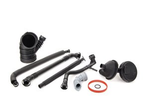 ES#2731697 - 11617501566KT5 - Oil Separator Kit - Level 2 - A truly complete kit for oil separator system maintenance - Assembled By ECS - BMW