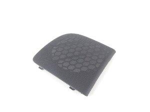 ES#458972 - 8P40354354PK - Rear Door Speaker Grille - Sabre (Black) - Left - Protect your speaker and clean up your interior - Genuine Volkswagen Audi - Audi