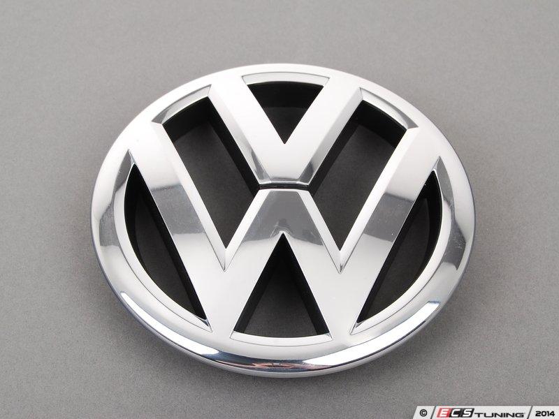 Genuine Volkswagen Audi - 561853600ULM - VW Emblem - Front