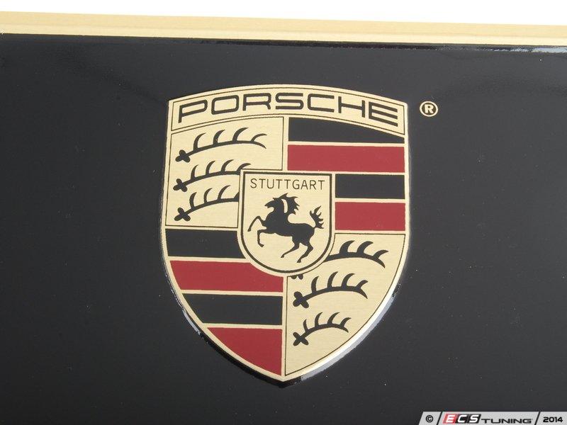 Genuine Porsche Pna701005 Porsche Logo License Plate