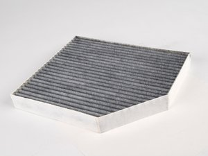 ES#257441 - 8K0819439A - Charcoal Lined Cabin Filter / Fresh Air Filter - The activated charcoal filters odor from reaching the cabin - Mann - Audi