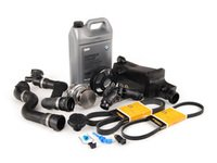 ES#2528697 - 17117573751LV2B - ECS Cooling Maintenance Kit - Level 2 - A more advanced cooling refresh kit - with aftermarket components, including an ECS Aluminum water pump pulley and featuring a GEBA water pump with a metal impeller - Assembled By ECS - BMW