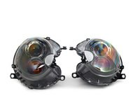 ES#2724198 - 63102347698KT - Xenon Headlight Titanium Gray 25 W - Set - For upgrade to xenon headlights, Set of the left and right hand side. - Genuine MINI - MINI