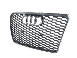 ES#2696525 - 4G8853651ET94 - RS7 Grille Assembly - Glossy Black - Clean up or change your look - Genuine Volkswagen Audi - Audi