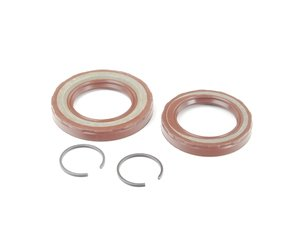ES#1697004 - 1639970146 - Front Differential Side Cover Seal Kit - Includes seals and retaining clips - Genuine Mercedes Benz - Mercedes Benz