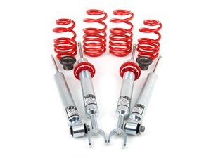 "ES#1303563 - 50320-2 - Street Performance Coilover Kit - Unrivaled comfort and performance. Average lowering of 1.2""-2.2""F 1.0""-2.0""R - H&R - Audi"
