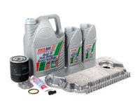 ES#2602425 - 078103604AAKT2 - Oil Pan Replacement Kit - Everything required to replace your leaking pan, including the oil change - Assembled By ECS - Audi