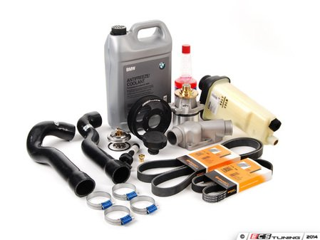ES#2587159 - 888010330PERKT2 - Performance Cooling Kit - Without Radiator - It's time to get serious about your cooling system! - Assembled By ECS - BMW