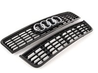 ES#2719294 - 8E0807647E5PVKT - Blackout Grille Kit - Get a sleek European look with this two piece kit - Genuine Volkswagen Audi - Audi