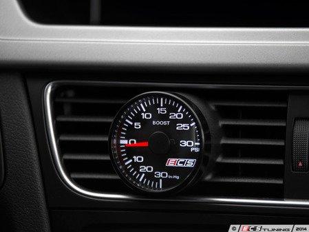 ES#2992840 - 0013625ECS01KT - ECS Vent Pod Boost Gauge Kit - Vent-mounted digital boost gauge for 2.0T that looks factory installed - ECS - Audi