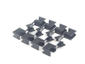 ES#159144 - 54377187747 - Roof Mounting clip - Used to mount the rails of your convertible top - Genuine BMW - BMW