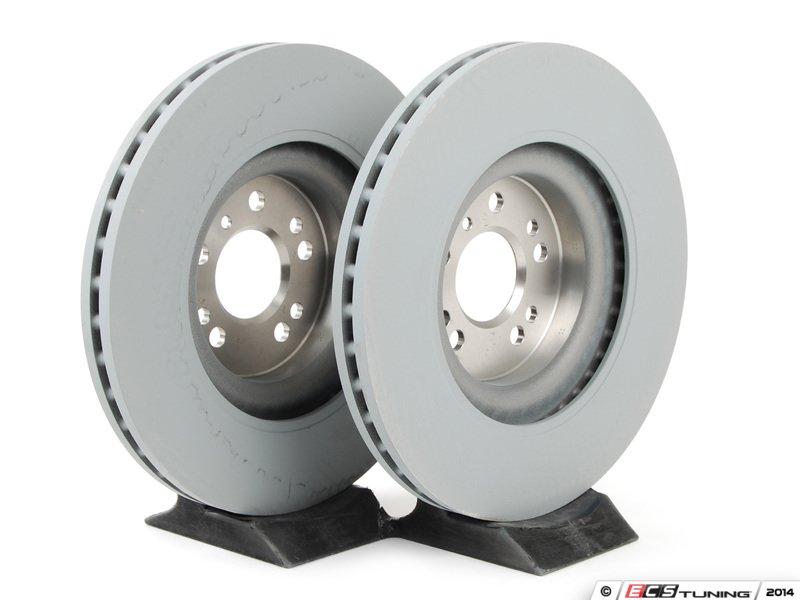 Genuine mercedes benz 1644211412kt1 front brake rotors for Mercedes benz rotors