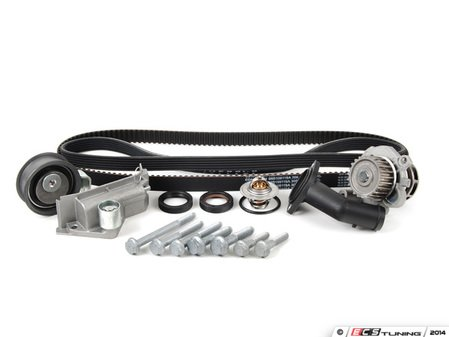 ES#2286 - 06B198479 V2 - Timing Belt Kit - Ultimate  - Complete kit to service your timing belt, water pump, and thermostat. - Assembled By ECS - Audi Volkswagen