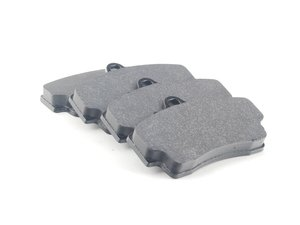 ES#1873897 - HB290G.583 - DTC-60 Race Brake Pad Set - Slightly lower friction coefficient and bite compared to DTC-70 - Hawk - Porsche
