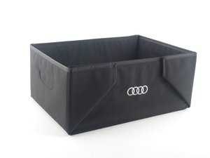 ES#2571764 - 8U0061109 - interior cargo box - Foldable box that features the Audi rings logo - Genuine Volkswagen Audi - Audi