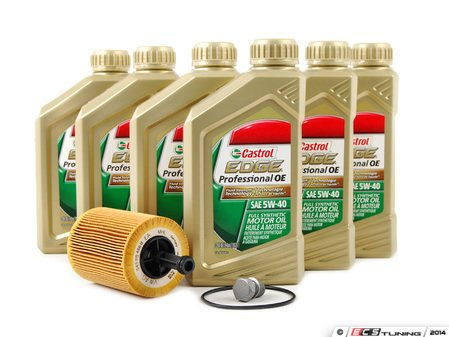 ES#2561097 - VR624VOEM -  Genuine Oil Service Kit - Includes Genuine oil filter and Genuine 5w-40 oil - Genuine Volkswagen Audi - Volkswagen
