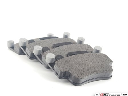 ES#2581221 - 99635294903 - Brake Pads - Updated design with balance weights for noise reduction - Textar - Porsche