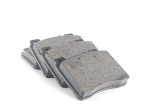 ES#2538234 - 0024202620 - Front Brake Pad Set - Does not include brake pad wear sensor - Textar - Mercedes Benz