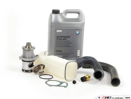 ES#2738425 - 17111712835KT - ECS Cooling System Refresh Kit - Level 1 - An entry level cooling refresh kit - with aftermarket components, featuring a GEBA Water Pump - Assembled By ECS - BMW