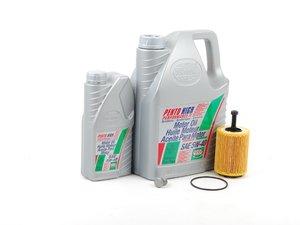 ES#3115 - MK4VR624V3KKT -  Oil Service Kit  - Includes Mann oil filter and Pentosin 5w-40 oil - Assembled By ECS - Audi Volkswagen