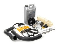 ES#2718405 - ECSE36M42CMKT - Cooling System Refresh Kit - Level 2 - Upgraded to include belts and an aluminum water pump pulley - Assembled By ECS - BMW