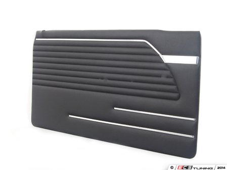 ES#96359 - 51411816855 - Door Trim panel - Left - Schwarz/Schwarz. Interior trim of the left door panel - Genuine BMW - BMW