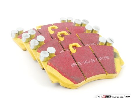 ES#2070868 - DP41905R -  YellowStuff Performance Brake Pad Set - A race-quality pad that can be used on the track or on the street - EBC - Audi Porsche
