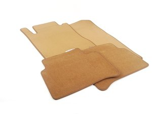 ES#1820889 - 66294140 - Carpeted Floor Mats - Set Of Four - Savanna Beige - Genuine Mercedes Benz - Mercedes Benz