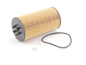 ES#3549 - 079198405 - Oil Filter Kit - Priced Each - Oil filter cartridge with o-ring - Hengst - Audi Volkswagen