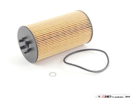 ES#3549 - 079198405 - Oil Filter Kit - Priced Each - Oil filter cartridge with o-ring - Hengst - Audi Volkswagen