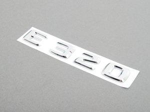 ES#1659575 - 1248175815 - 'E320' Emblem - Located on the trunk lid - Genuine Mercedes Benz - Mercedes Benz