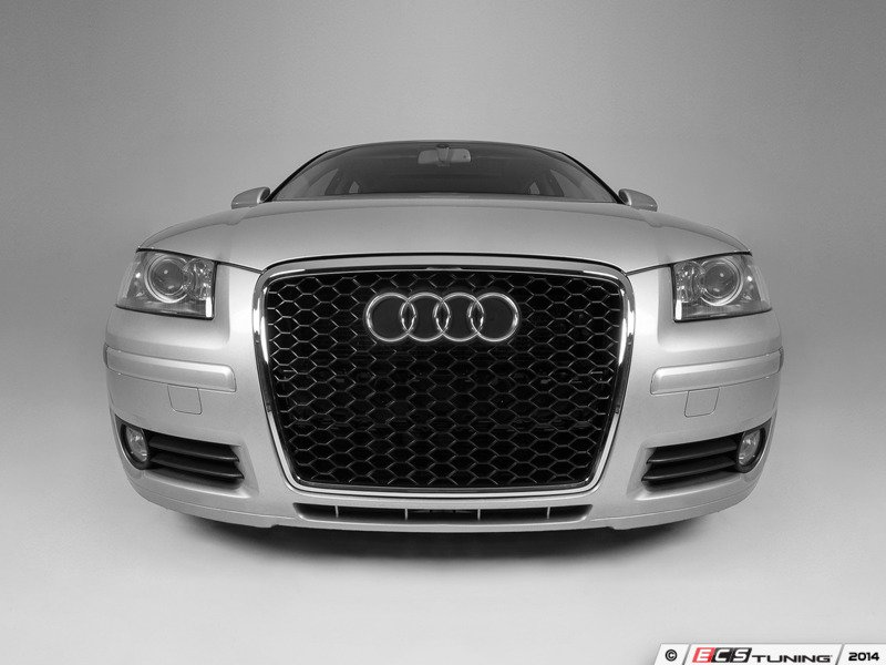 ecs news audi 8p a3 ecs rs style mesh grilles. Black Bedroom Furniture Sets. Home Design Ideas