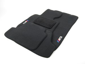 ES#2498831 - 82112293540 - M3 Carpeted Floor mats - Embroidered with the M3 logo - Genuine BMW - BMW