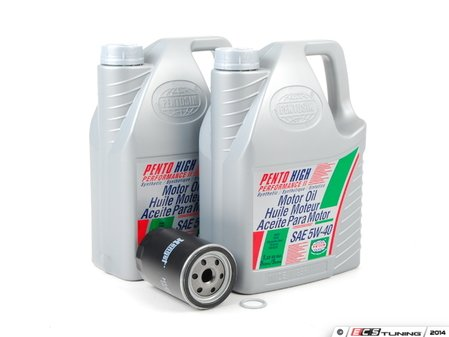 ES#7185 - 077198000 - ECS Tuning Oil Service Kit - Keep your engine properly lubricated. - Assembled By ECS - Audi