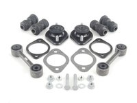 ES#1892320 - E30SUSREF - Rear Suspension Rebuild Kit - level 1 - Address worn trailing arm bushings, sway bar end links, and blown rear shock mounts with this rear refresh kit - Assembled By ECS - BMW