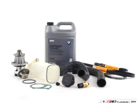 ES#2739621 - 17111712835KT2 - ECS Cooling System Refresh Kit - Level 2 - A more advanced refresh kit - with aftermarket components, featuring a GEBA Water Pump - Assembled By ECS - BMW