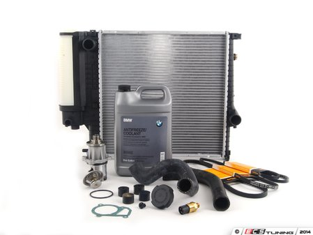 ES#2739622 - 17111712835KT3 - ECS Cooling System Refresh Kit - Level 3 - The ultimate cooling refresh kit - with aftermarket components, featuring a GEBA water pump - Assembled By ECS - BMW
