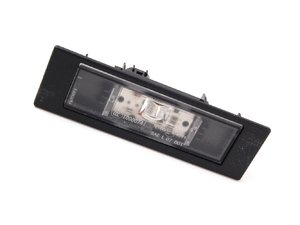 ES#1833250 - 63267193294 - LED License Plate Light Assembly - Keep your license plate illuminated - Genuine BMW - BMW