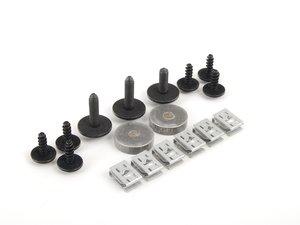 ES#2738919 - 003425ECS02 -  Street Shield Hardware Kit - Replacement hardware kit for your ECS Street Shield - ECS - Audi Volkswagen