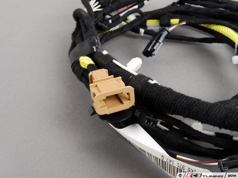 genuine volkswagen audi kq hatch wiring harness left es 322351 1k6971147q hatch wiring harness left responsible for electrical transmission lsaquo rsaquo