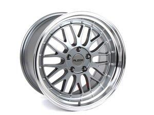 "ES#2748224 - 020-20GMBkt - 18"" Style 020 Wheels - Set Of Four  - 18""x10"" ET30 5x112 - Gunmetal with Polished Lip - Alzor - Audi BMW Volkswagen"