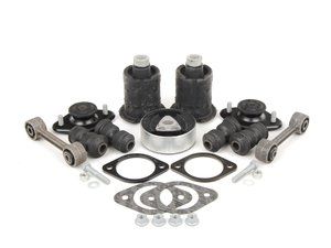 ES#2739363 - E30SUSREFKT - Rear Suspension Rebuild Kit - Level 2 - Completely rebuild your rear suspension! Includes level two plus subframe mounts and differential bushings. - Assembled By ECS - BMW